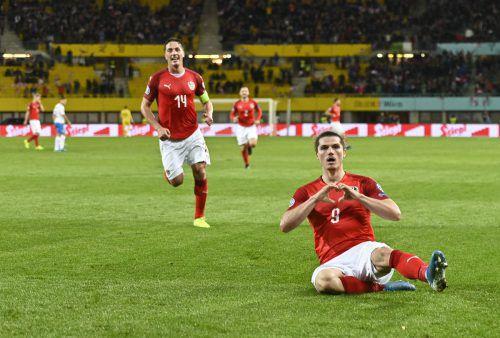 Marcel Sabitzer und Co. freuen sich auf die Tests gegen die Türkei und England.Apa