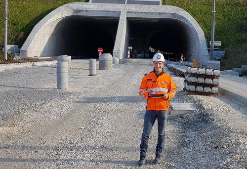 Markus Hertnagel koordiniert den Bau der bahntechischenAusrüstung. Privat