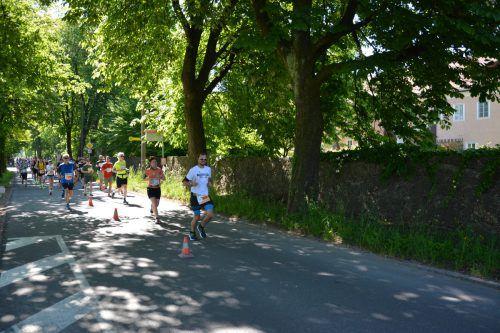 Markus Sauer, im Bild beim Salzburg-Marathon, will zeigen, dass eine Krankheit wie Diabetes keine Ausrede ist, um sportlich aktiv zu sein.privat/2