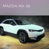 Mazda springt auf Elektrozug auf
