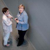 Deutsche Kanzlerin Merkel stellt sich hinter Syrien-Vorschlag