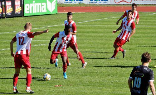 Mission Sieg wurde von den FC Dornbirn Juniors gleich mit einem 8:2-Sieg gegen Hittisau erfüllt.cth
