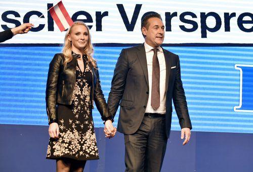 Gegen Philippa und Heinz-Christian Strache läuft ein Verfahren. APA