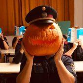 Halloween und verbotene Scherze