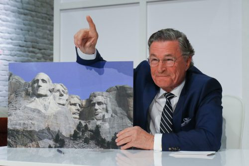 """""""President""""-Kandidat Tishler (Max Volkert Martens). MArina MAisel"""