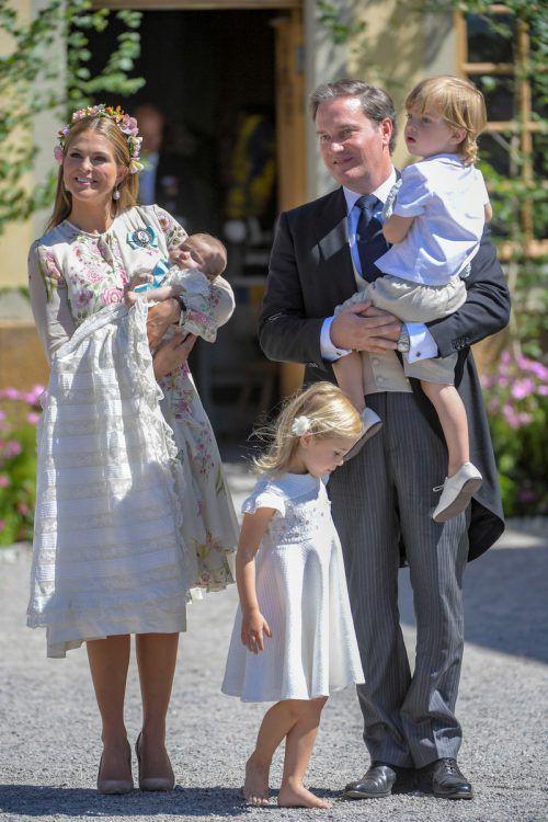 Prinzessin Madeleines drei Kinder sind keine königlichen Hoheiten mehr. Reuters