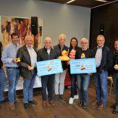 Jubiläum brachte 11.100 Euro für Kinder