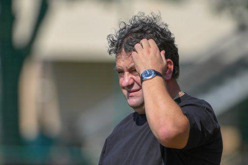 RW-Trainer Stipo Palinic verspricht viel Einsatz und Herz gegen SW Bregenz. Lerch