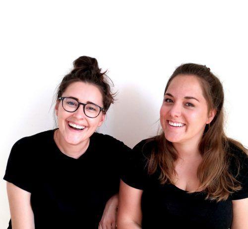 Sarah Luger (l.) und Katharina Amann können stolz sein auf ihr Werk. luger