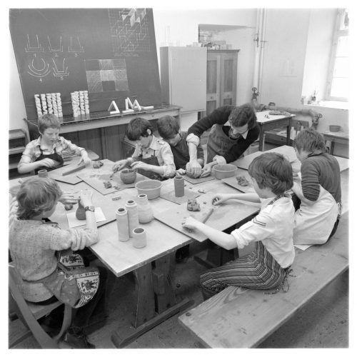 So sah der Werkunterricht im Jahre 1978 aus.