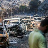 Im Libanon wüten schwerste Waldbrände seit Jahrzehnten