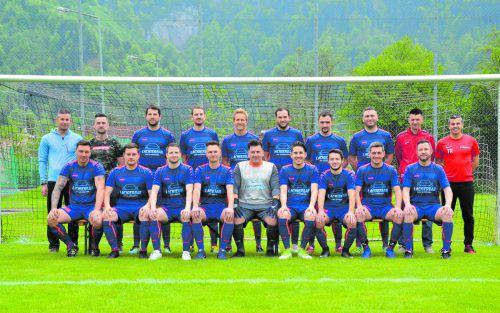 Über den Gewinn der Herbstmeisterschaft kann sich die Mannschaft des SC Mühlebach schon einmal freuen.Verein