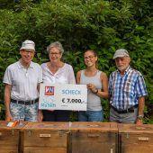 Imkerverein spendet 7000 Euro für Ma hilft