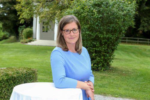 Verena Burtscher sieht sich als Schnittstelle zwischen Kultur, Wirtschaft und Politik.bi