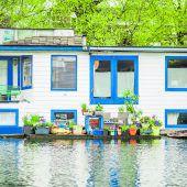 Hausboote als Wohnalternative