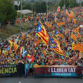 Proteste legen Katalonien lahm