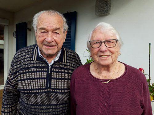 Zusammenhalt ist auch nach 65 Jahren Ehe das Wichtigste. Lässer