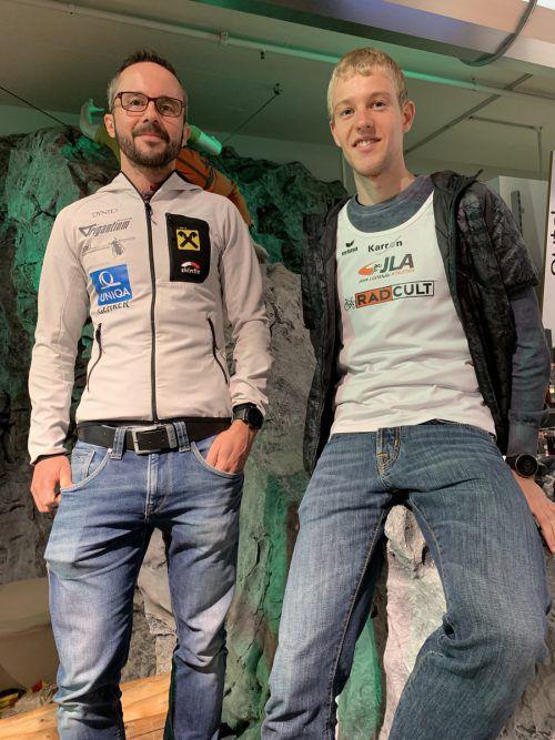 Zwei, die sich auf den Staufenlauf freuen: Andreas Gehrer und Jakob Mayer (r.).adam