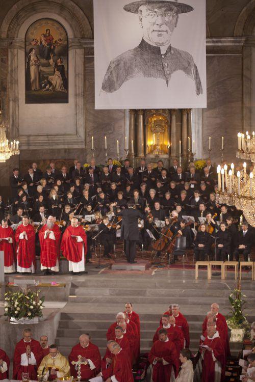 2011 wurde der Göfner Priester Carl Lampert seliggesprochen. VN/Paulitsch