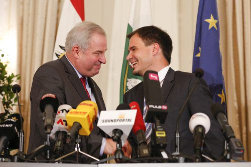 2015 traten Schickhofer und Schützenhöfer in eine gemeinsame Koalition. Dass sie weitermachen, ist wahrscheinlich.APA