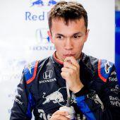 Alex Albon bleibtRed-Bull-Fahrer