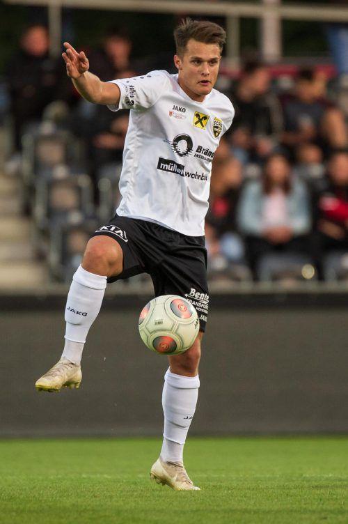 Altach-Kapitän Tino Dietrich hofft weiter auf das Meister-Play-off.VN/Stiplovsek