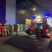 Feuerwehreinsatz bei Grass in Höchst