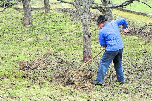 Anstrengend Ab einem gewissen Alter kann die früher so geschätzte Gartenarbeit zu anstrengend werden.Foto: Günter Havlena_pixelio.de