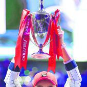 Ashleigh Barty krönte das Tennisjahr