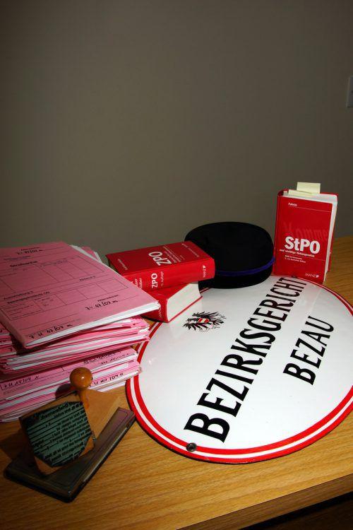 Auch die Pläne zur Schließung des Bezirksgerichtes Bezau durch das Ministerium sind Thema eines Antrages an den Landtag. VN/Berchtold
