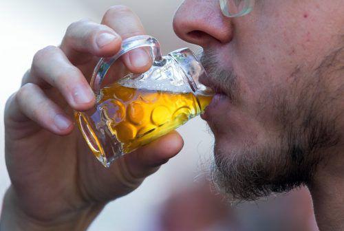 Auch eine Möglichkeit: Wird der Bierpreis höher, werden die Gläser kleiner. APA