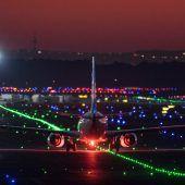 Flugzeugzusammenstoß in Frankfurt verlief glimpflich
