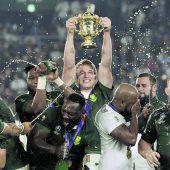 Südafrika zum dritten MalRugby- Weltmeister