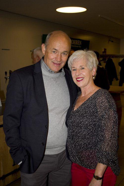 Barbara und Kurt Böckle genossen den Abend.