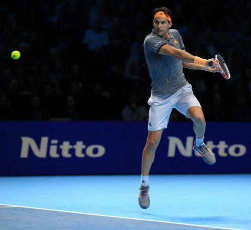 Bei Redaktionsschluss war die Partie zwischen Dominic Thiem und Novak Djokovic noch im Gang: Der Serbe gewann den ersten Satz 7:6 (5), Thiem den zweiten Satz 6:3.gepa