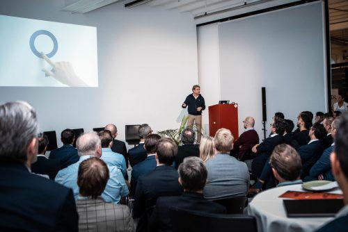 Boris Marte ist gebürtiger Bregenzer, Leiter der Innovationsmanufaktur der Erste Group und Geburtshelfer von George.towa