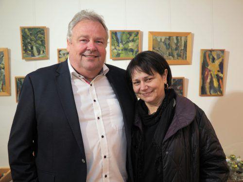 Bürgermeister Karl Wutschitz mit Gattin Maria.
