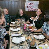 Frauen und Kultur in der Gaststube