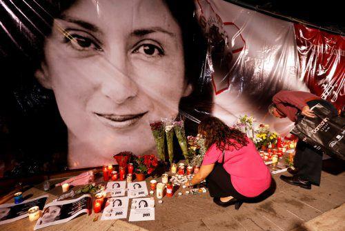 Caruana Galizia war 2017 nahe ihrem Haus ermordet worden. REUTERS