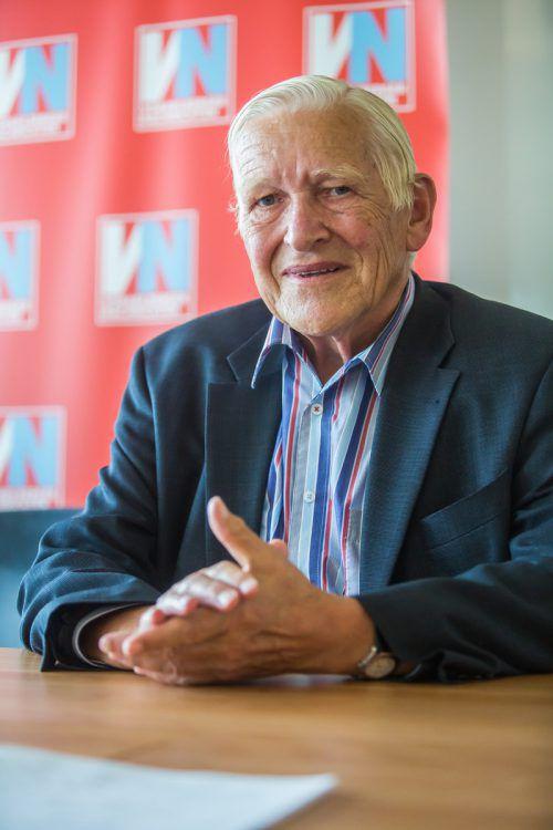 Christliche Werte und Toleranz schließen sich für Willi Hagleitner nicht aus. vn/PS