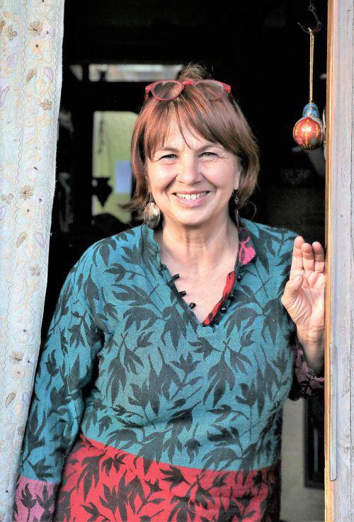 Cornelia Caldonazzi setzt sich für Kashmir ein. Caldonazzi