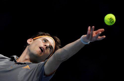 Das 7:5, 7:5 gegen Roger Federer war Dominc Thiems dritter Erfolg über den Schweizer in diesem Jahr. Eine derartige Serie gegen den Grand-Slam-Rekordsieger können nur vier weitere Profis vorweisen: Der erste war David Nalbandian (2003), gefolgt von Rafael Nadal, Andy Murray und Novak Djokovic.Reuters