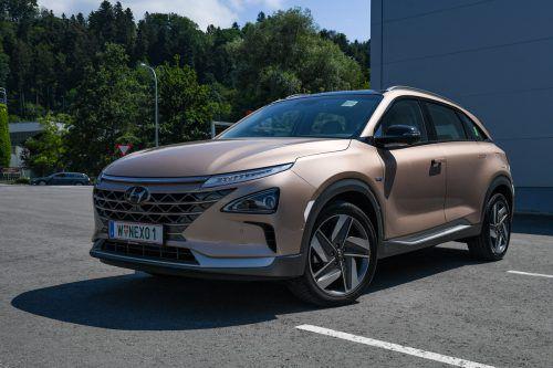 Das Fahren geht genauso flüsterleise, wie man es von einem batteriegetriebenen Elektroauto kennt. VN/Lerch