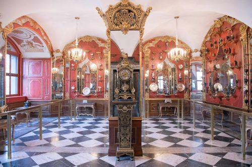 Das historische Grüne Gewölbe in Dresden gilt als einmalige Schatzkammer Europas. AFP