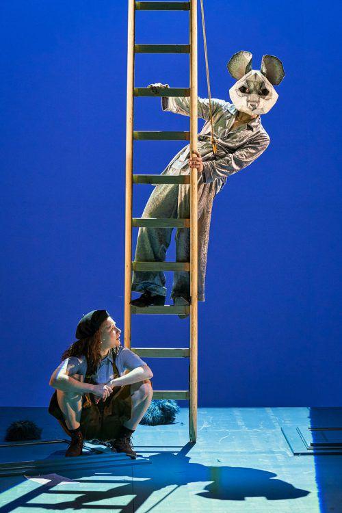 """Das Stück nach dem Roman """"Vevi"""" von Erica Lillegg wird am Vorarlberger Landestheater von Bérénice Hebenstreit inszeniert. LT/köhler"""