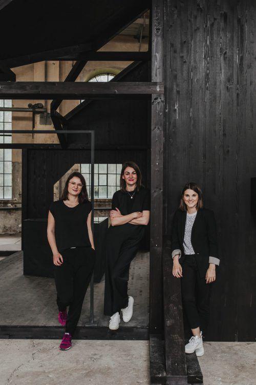 Das Team von Dornbirn plus rund um Theresa Bubik, Bettina Steindl, Lisa-Maria Alge (v. l.) freut sich über einen gelungenen Jury-Besuch. Dornbirn plus