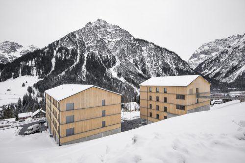 Das Wohnprojekt der Vogewosi in Mittelberg ist ein Beispiel für leistbares Wohnen. vogewosi