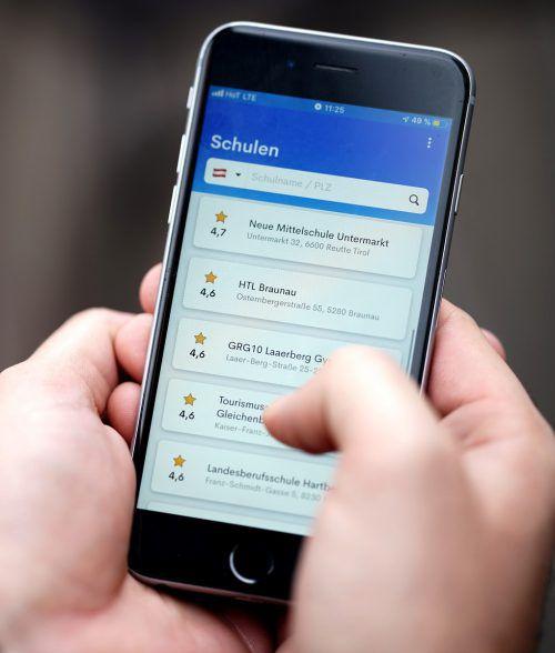 Dass Schüler ihre Lehrer in einer App bewerten können, ist umstritten.APA
