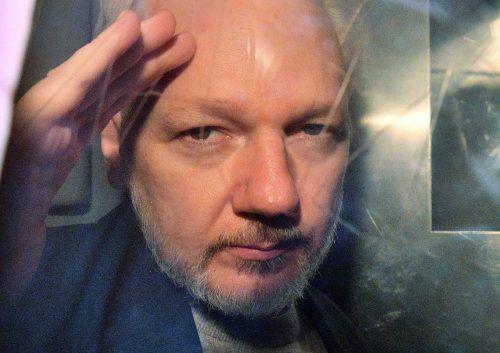 Dem Wikileaks-Gründer droht eine Auslieferung in die USA. AFP