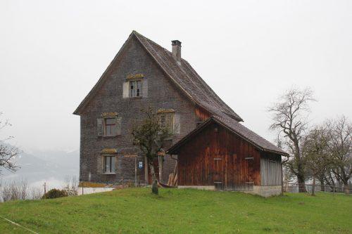 Der alte Pfarrhof in Düns wird um rund 700.000 Euro saniert.vn/jlo